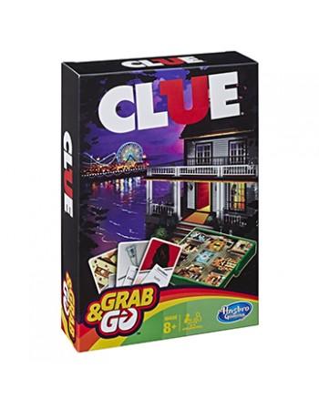 JOGO HASBRO GAMING CLUE GRAB & GO