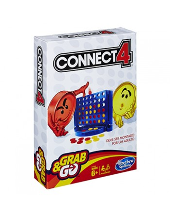 JOGO HASBRO GAMING CONNECT 4 GRAB & GO