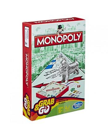 JOGO HASBRO GAMING MONOPOLY GRAB & GO