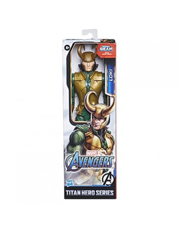 BONECO TITAN HERO MARVEL LOKI