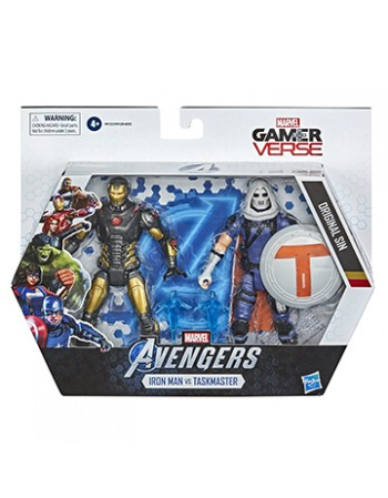 AVN 6IN IRON MAN AND TASK MASTER /F0123