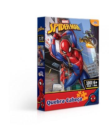 NP QUEBRA-CABECA 100 PCS HOMEM ARANHA / 8013
