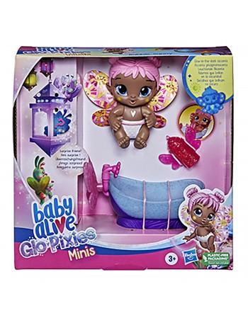 BABY ALIVE GLO PIXIES MINI BUBBLE SUNNY (PINK AA)/F2597